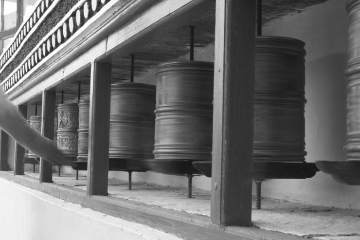 Spinning the Prayer Wheels